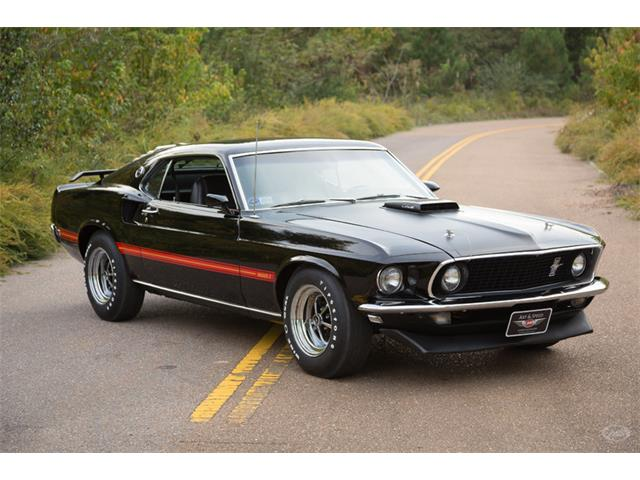 1969 Ford Mustang 428 Cobra Jet Ram Air Sportsroof | 912293