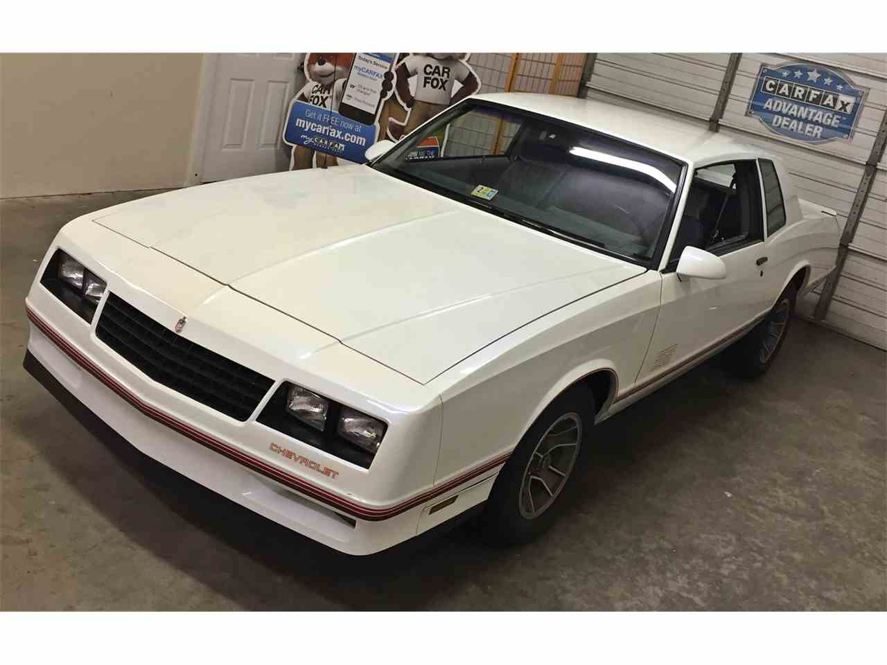 All Chevy 1988 chevrolet monte carlo ss for sale : 1988 Chevrolet Monte Carlo SS for Sale | ClassicCars.com | CC-912355