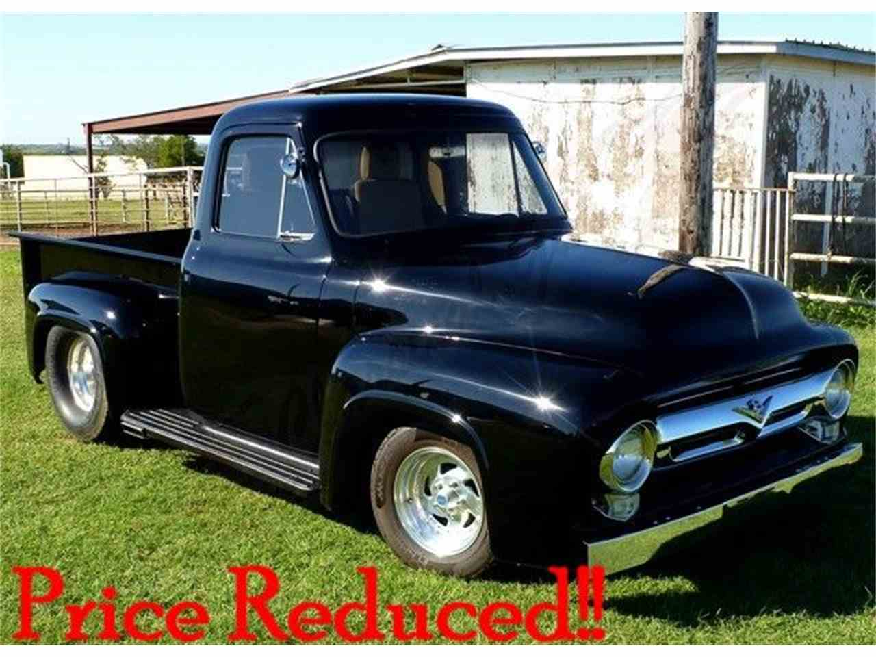 Group Of 1955 Ford F100 Truck Hot Rod F 100 Pickup Network