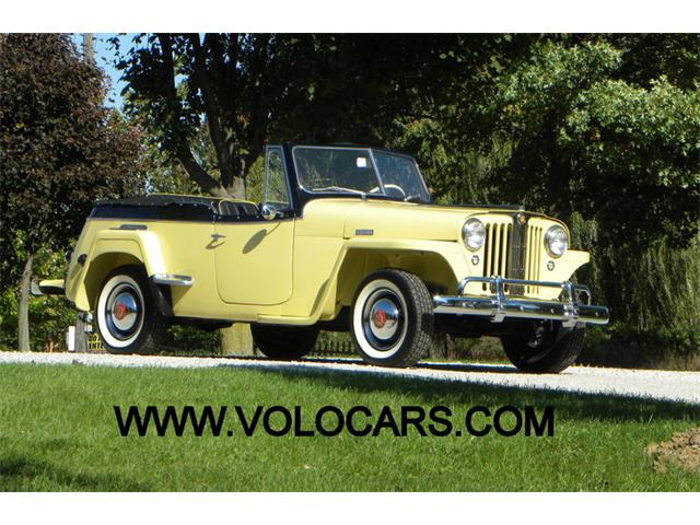 1949 Willys VJ2 Jeepster Phaeton | 912870