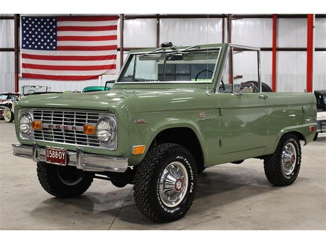 1969 Ford Bronco   912908
