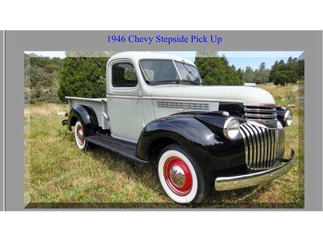 1946 CHEVROLET STEPSIDE PICK UP | 913214