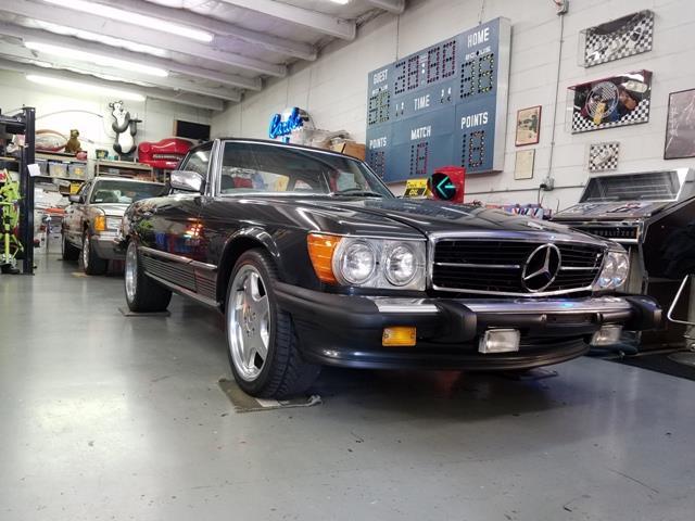 1987 MERCEDES BENZ 560 SL RDSTR | 913229