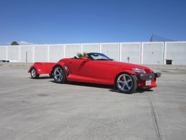 1999 PLYMOUTH PROWLER AND TRAILER | 913274