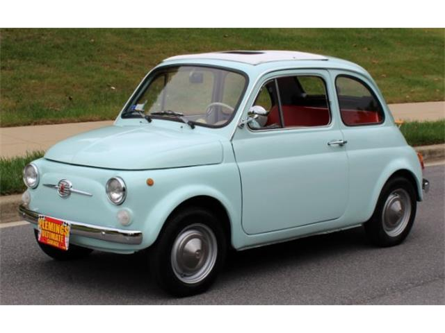 classic fiat 500 for sale on 10 available. Black Bedroom Furniture Sets. Home Design Ideas