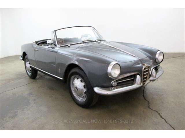 1960 Alfa Romeo Giulietta Spider   913766