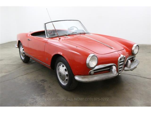 1958 Alfa Romeo Giulietta Spider | 913767