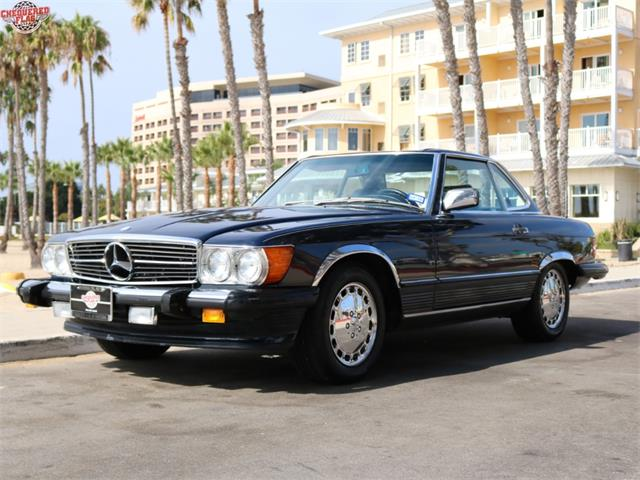 1989 mercedes benz 560 for sale cc 942308 for European motors fort worth