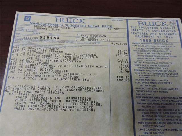 1969 Buick Riviera | 914662