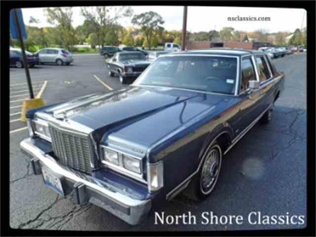 1987 Lincoln Premiere | 914810