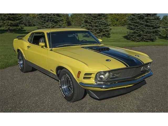 1970 Ford MACH 1 CJ | 914880