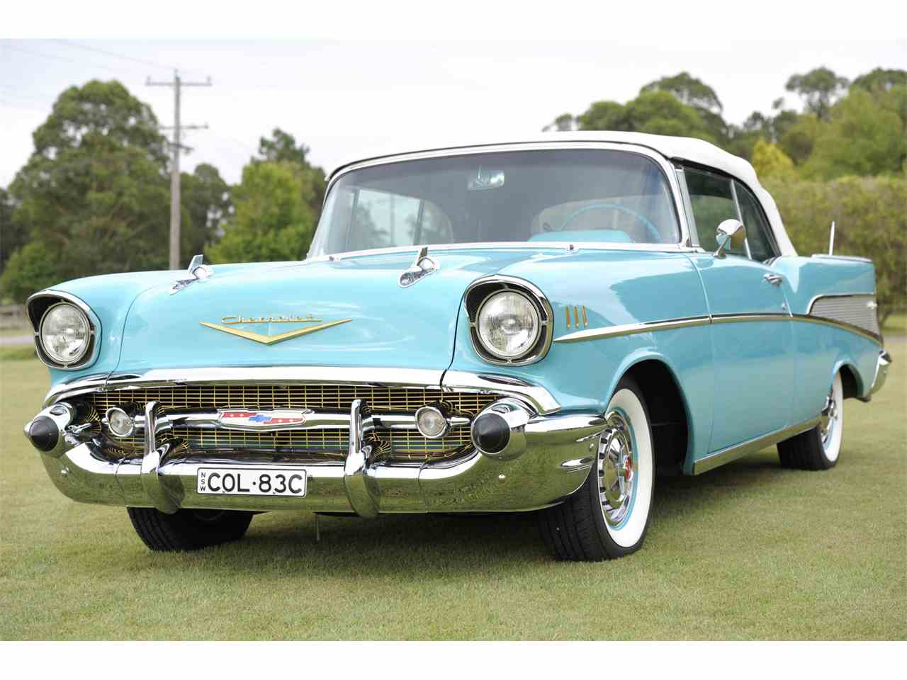 1957 chevrolet bel air for sale cc 914961. Black Bedroom Furniture Sets. Home Design Ideas
