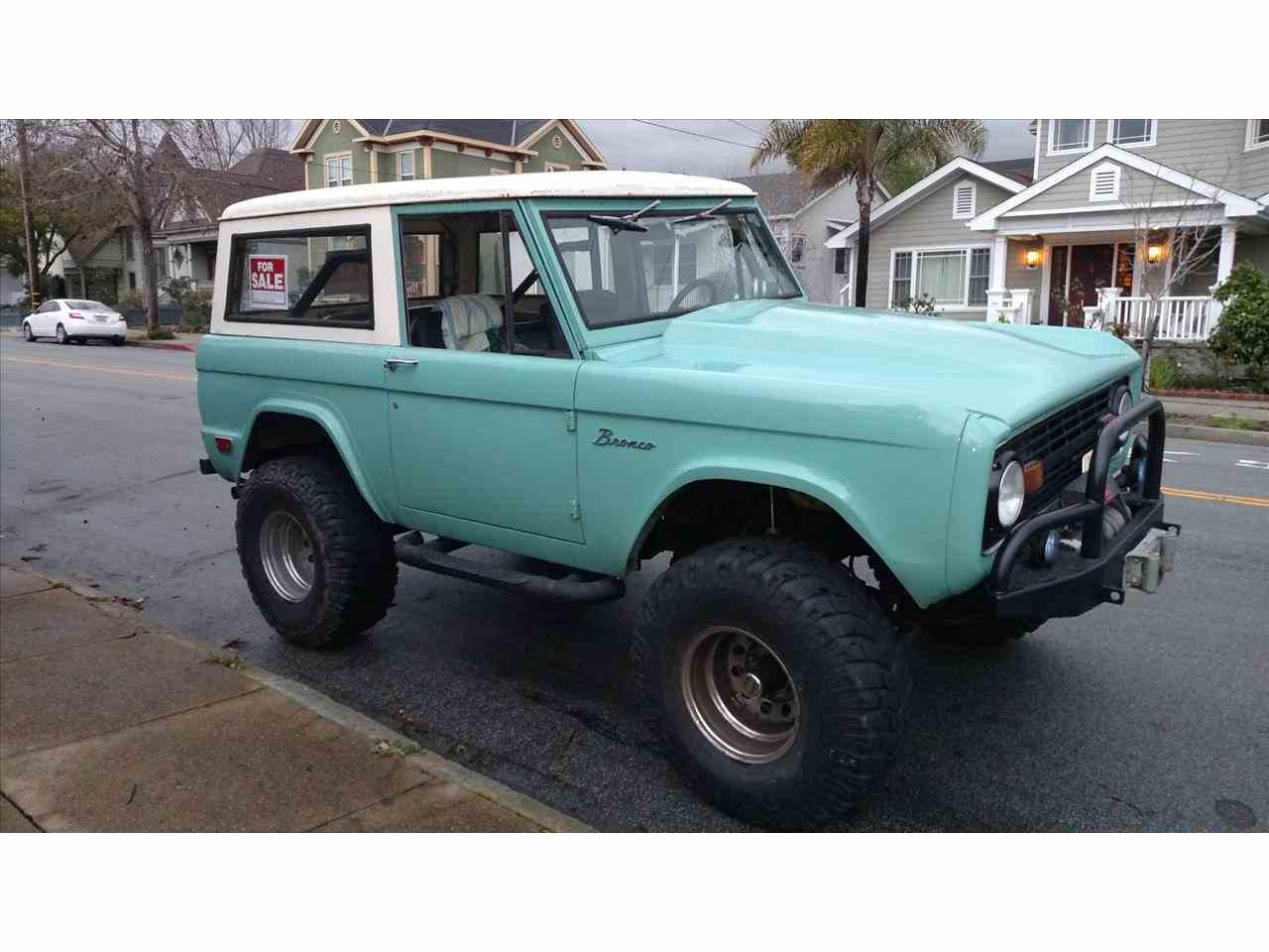 1969 ford bronco for sale cc 914971. Black Bedroom Furniture Sets. Home Design Ideas
