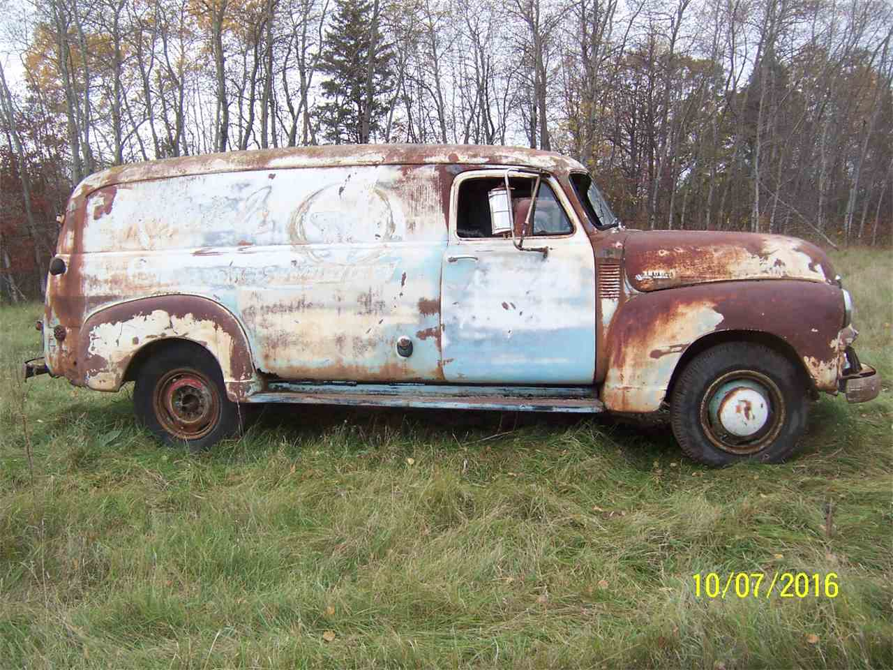 1954 chevrolet panel truck for sale cc 910526. Black Bedroom Furniture Sets. Home Design Ideas