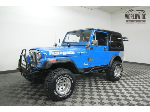 1981 Jeep CJ7 4WD | 915568