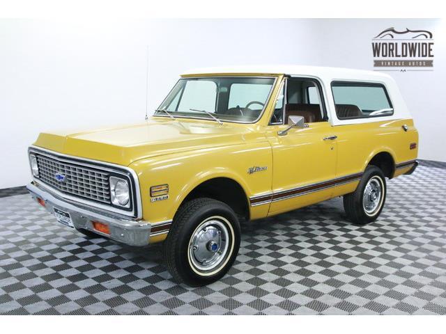 1971 Chevrolet Blazer   915652