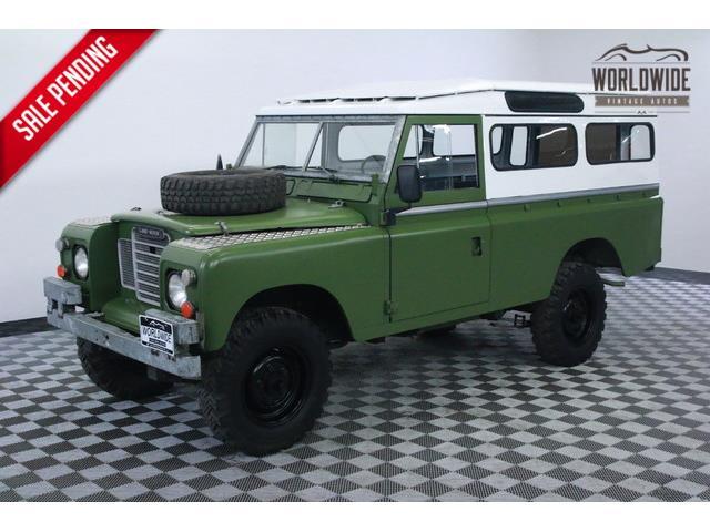 1978 Land Rover Series IIA   915655