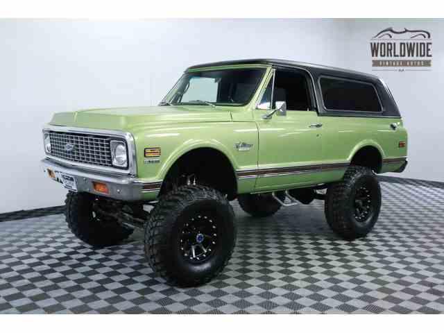 1971 Chevrolet Blazer   915664