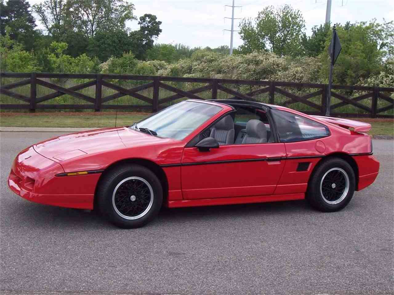 1988 pontiac fiero for sale cc 915688. Black Bedroom Furniture Sets. Home Design Ideas