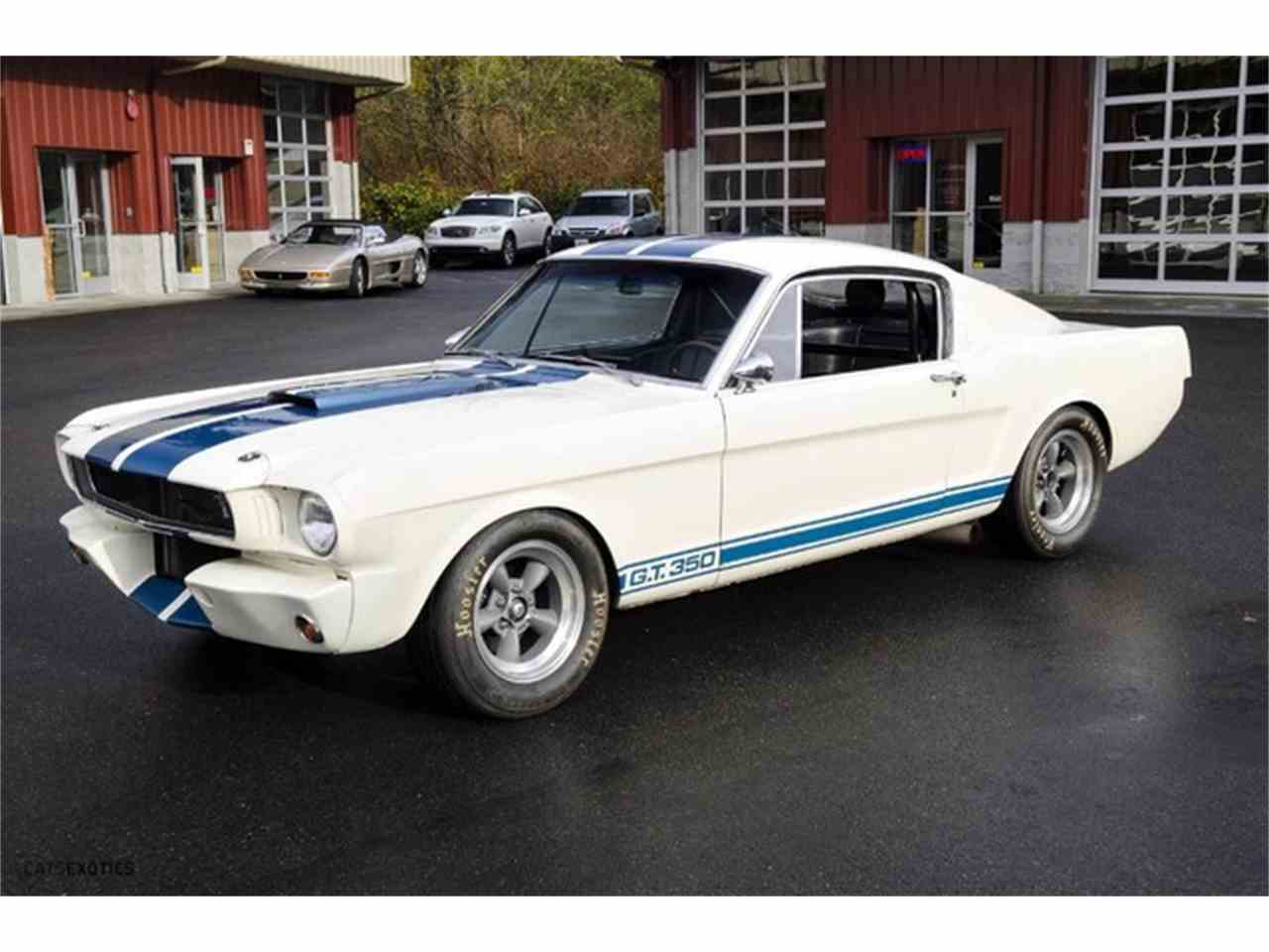 1965 ford shelby gt350 r for sale cc 915793. Black Bedroom Furniture Sets. Home Design Ideas