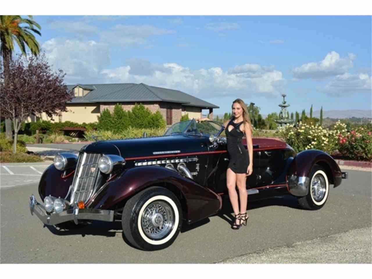 1934 auburn speedster for sale cc 915869. Black Bedroom Furniture Sets. Home Design Ideas