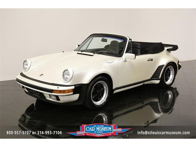 1984 Porsche 911 Carrera Turbo-Look Cabriolet | 918002