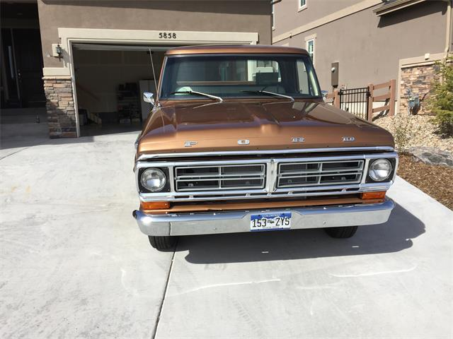 1972 Ford F100 | 910811