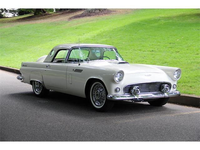 1956 Ford Thunderbird - Restored. Both Tops. AIR CONDITIONING | 918153