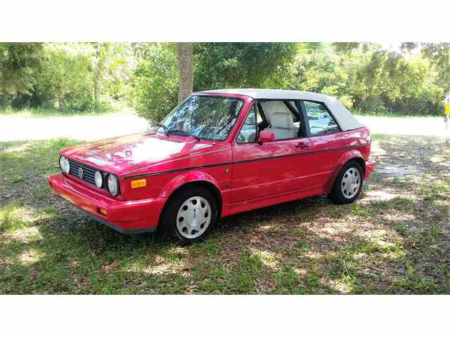1992 Volkswagen Cabriolet | 918308