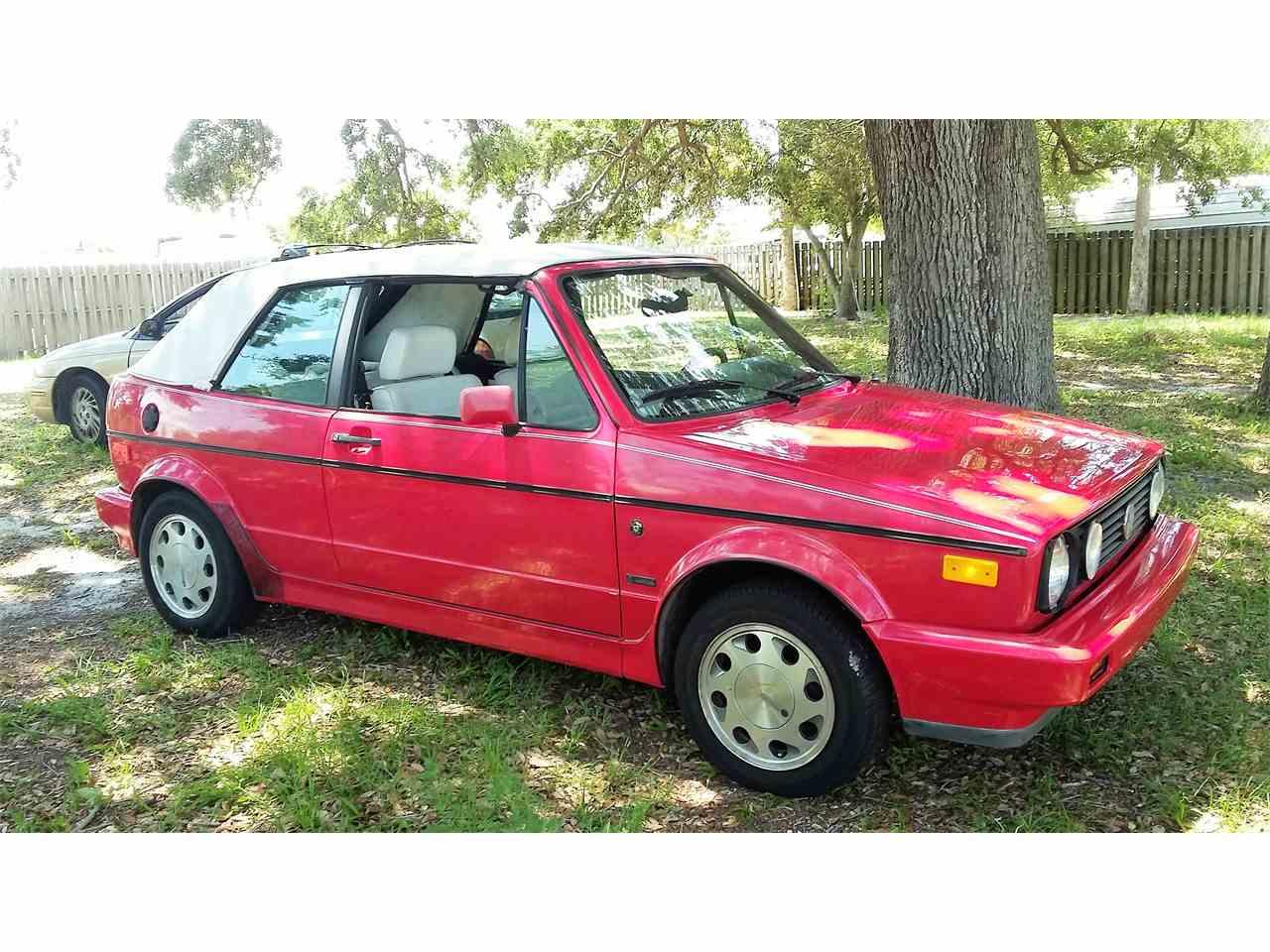 1992 Volkswagen Cabriolet For Sale Classiccars Com Cc