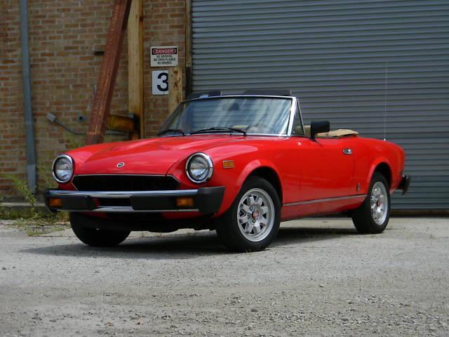 1982 Fiat Spider | 918310
