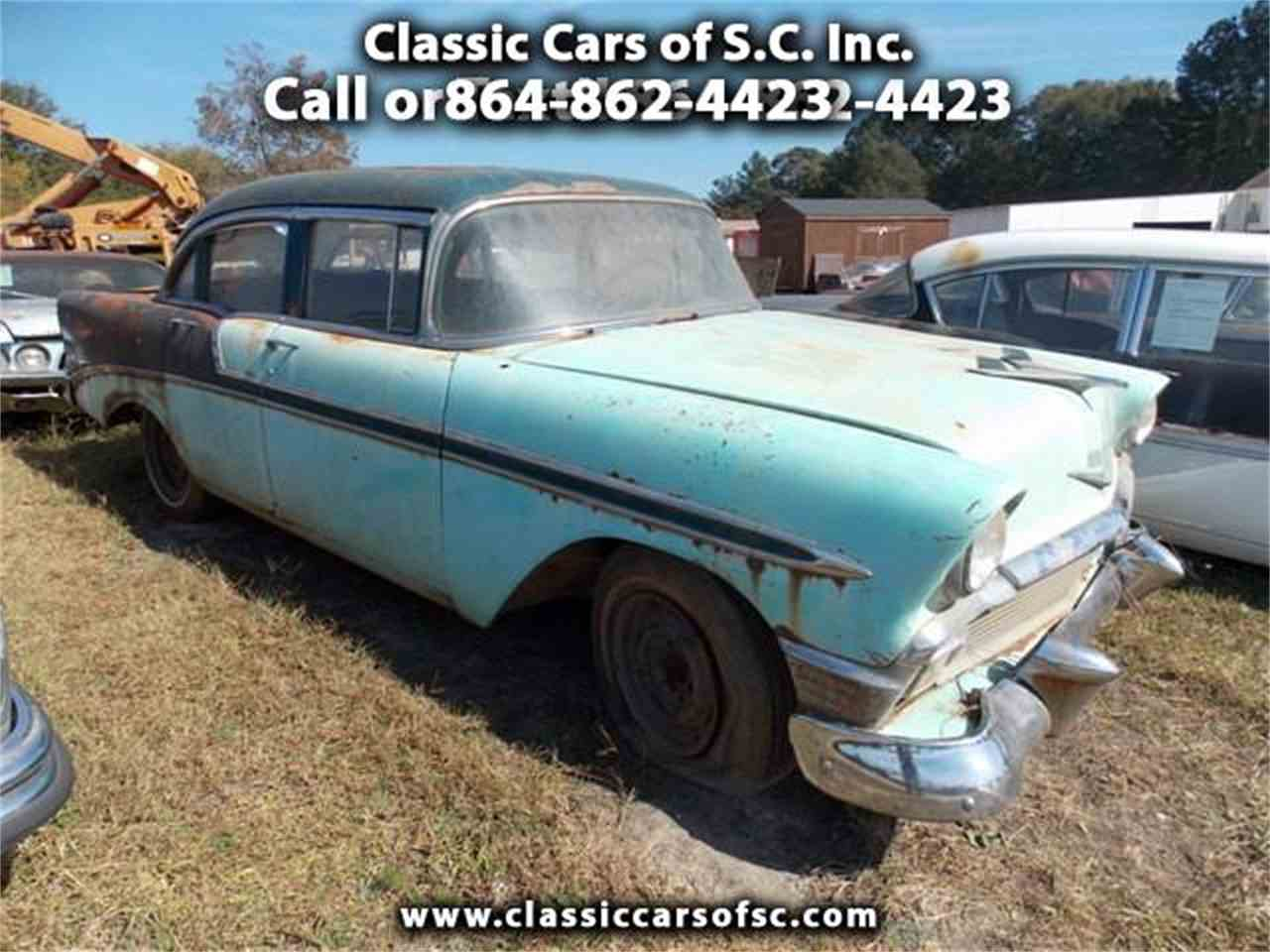 1956 chevrolet bel air for sale classic car liquidators - 1956 Chevrolet Bel Air For Sale Cc 918385