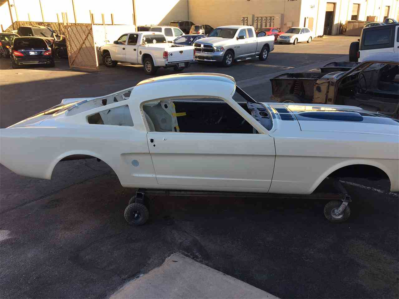 1965 ford mustang shelby body shell for sale cc 919212. Black Bedroom Furniture Sets. Home Design Ideas