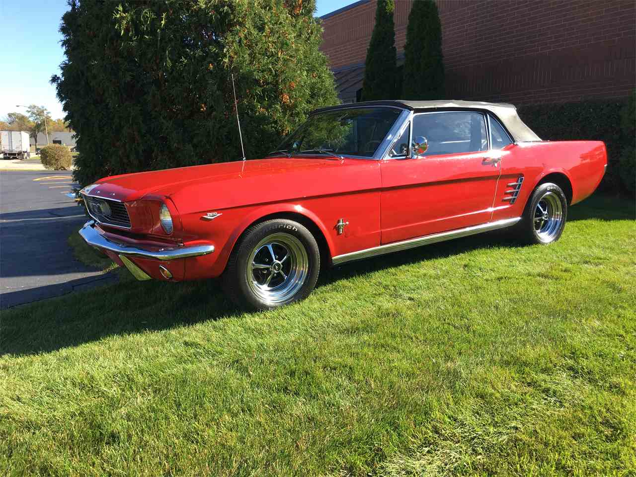 Large Picture of '66 Mustang - JPF7