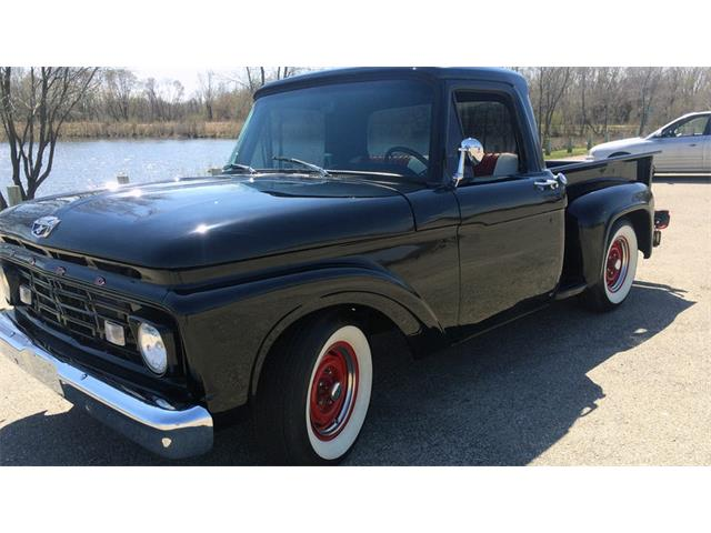 1964 to 1966 ford f100 for sale on 39 available. Black Bedroom Furniture Sets. Home Design Ideas