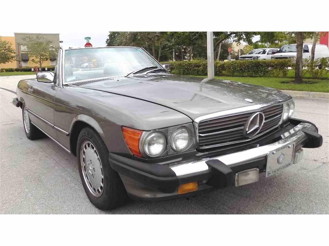 1989 mercedes benz 560sl for sale cc for Mercedes benz pompano