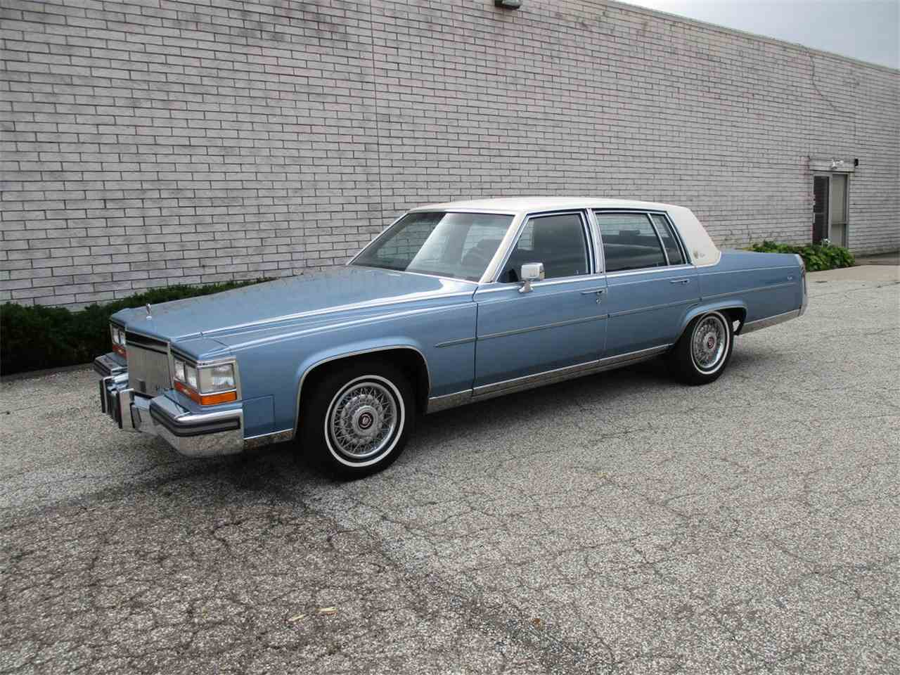 1989 Cadillac Brougham D Elegance For Sale Classiccars