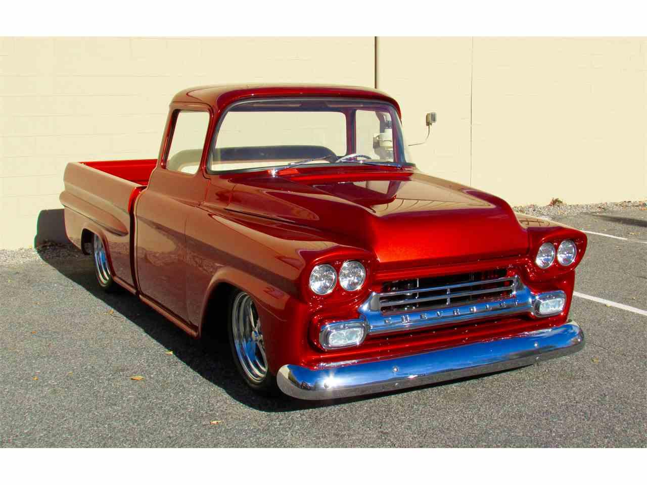 Large Picture of '59 Fleetside Custom Pickup Truck  - JPTV