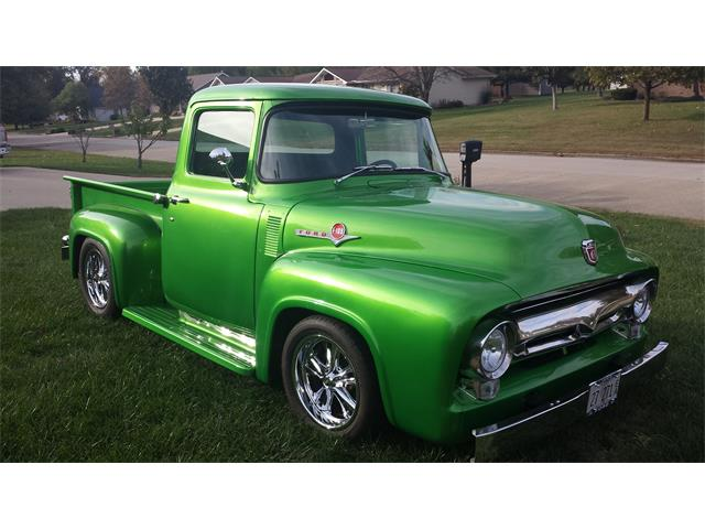 1953 to 1956 ford f100 for sale on 89 available. Black Bedroom Furniture Sets. Home Design Ideas