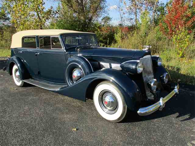 1937 Packard  Fifteenth Series Model 1502 Convertible Sedan | 921247