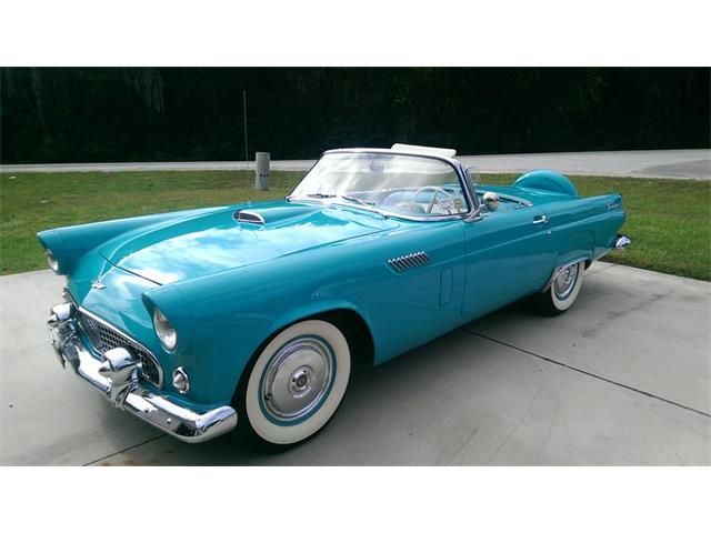 1956 ford thunderbird for sale on 57 available. Black Bedroom Furniture Sets. Home Design Ideas