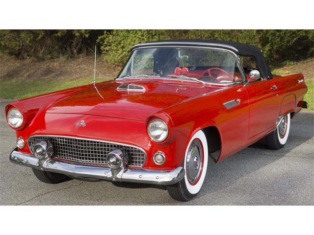 1955 ford thunderbird for sale on 69 available. Black Bedroom Furniture Sets. Home Design Ideas