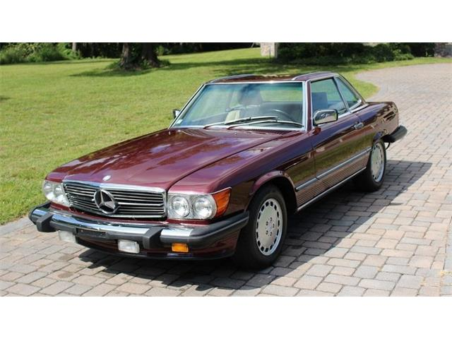 1986 Mercedes Benz 560sl For Sale On 17
