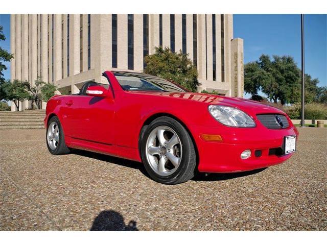 2002 Mercedes-Benz SLK-Class | 921844