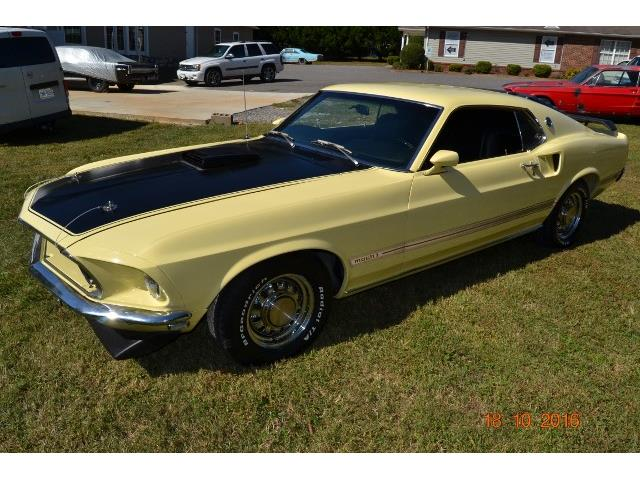 1969 Ford Mustang   921952