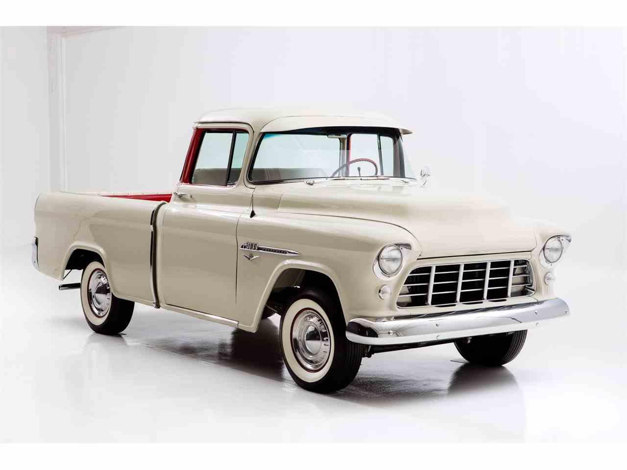 1955 chevrolet pickup for sale cc 922019. Black Bedroom Furniture Sets. Home Design Ideas