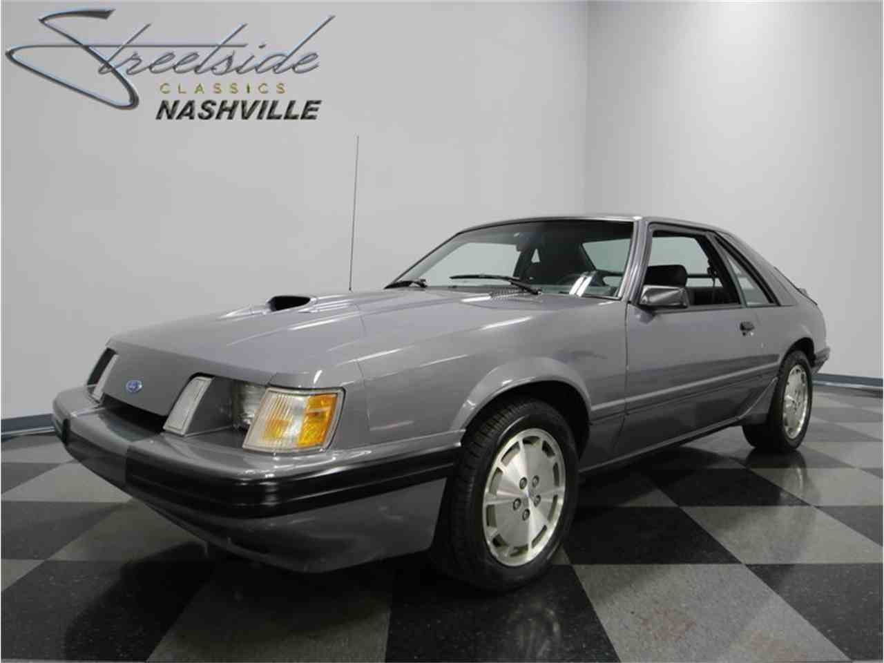 1985 Ford Mustang SVO for Sale - CC-922212