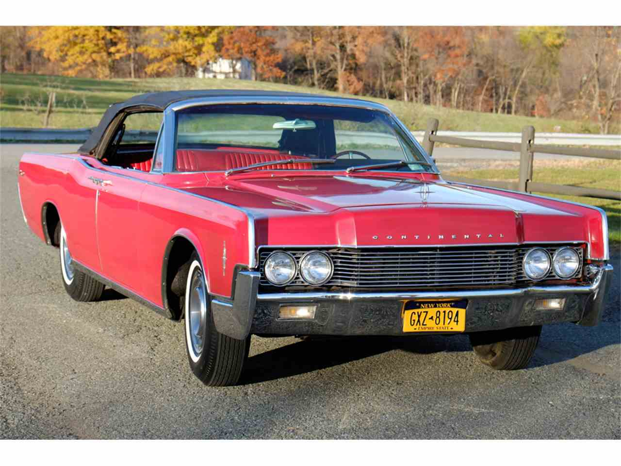 1966 lincoln continental for sale cc 922617. Black Bedroom Furniture Sets. Home Design Ideas