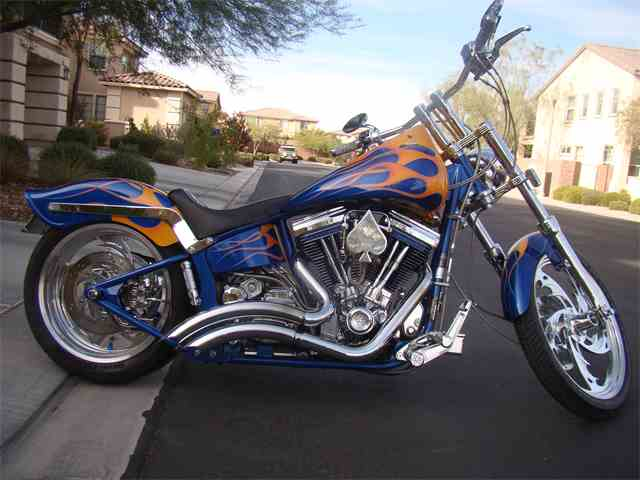 2001 Custom Motorcycle | 922627