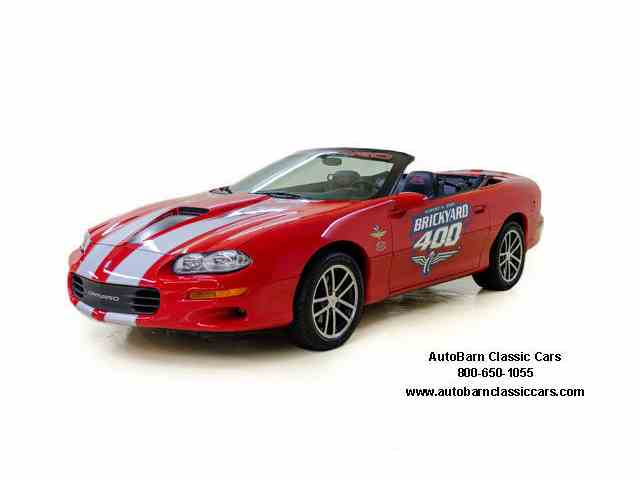 2002 Chevrolet BRICKYARD 400 Camaro SS | 920268